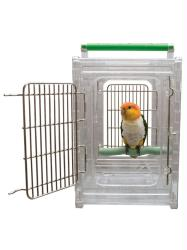 Perch & Go-Travel Cage-small and med Birds